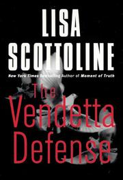 Cover art for THE VENDETTA DEFENSE