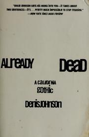 Cover art for ALREADY DEAD