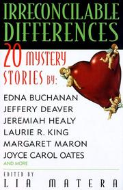 IRRECONCILABLE DIFFERENCES by Lia Matera