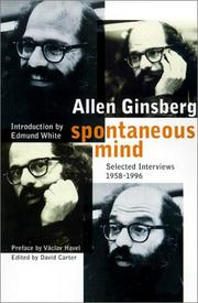 SPONTANEOUS MIND by Allen Ginsberg