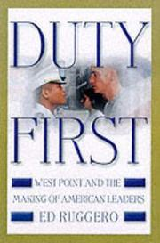 Cover art for DUTY FIRST