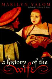 Cover art for A HISTORY OF THE WIFE