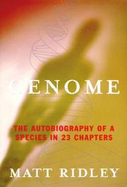 Cover art for GENOME