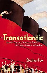 TRANSATLANTIC by Stephen Fox