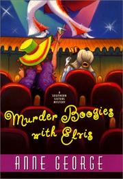 Cover art for MURDER BOOGIES WITH ELVIS