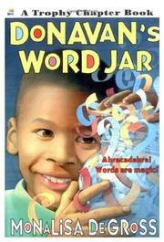 DONAVAN'S WORD JAR by Monalisa DeGross
