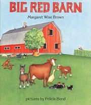 Book Cover for BIG RED BARN