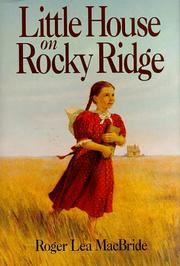 Cover art for LITTLE HOUSE ON ROCKY RIDGE