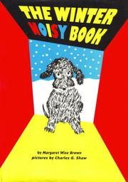 THE WINTER NOISY BOOK by Margaret Wise Brown