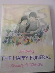 THE HAPPY FUNERAL by Eve Bunting