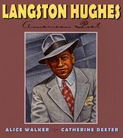 LANGSTON HUGHES by Alice Walker