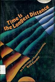TIME IS THE LONGEST DISTANCE by Ruth Gordon