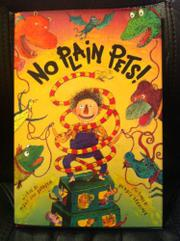 Cover art for NO PLAIN PETS!