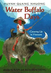 Cover art for WATER BUFFALO DAYS