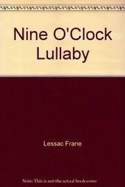 NINE O'CLOCK LULLABY by Marilyn Singer
