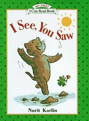 Book Cover for I SEE, YOU SAW
