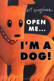 Book Cover for OPEN ME...I'M A DOG!
