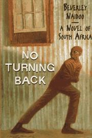Book Cover for NO TURNING BACK