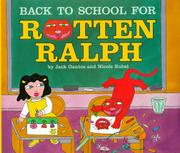 Book Cover for BACK TO SCHOOL FOR ROTTEN RALPH