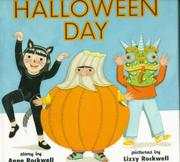 HALLOWEEN DAY by Anne Rockwell