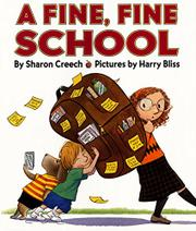 Book Cover for A FINE, FINE SCHOOL