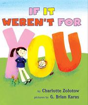 Book Cover for IF IT WEREN'T FOR YOU