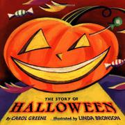 THE STORY OF HALLOWEEN by Carol Greene