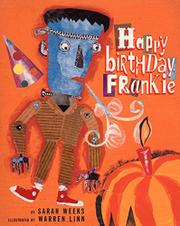 HAPPY BIRTHDAY, FRANKIE by Sarah Weeks