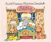 BEARS by Ruth Krauss