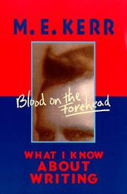 Cover art for BLOOD ON THE FOREHEAD