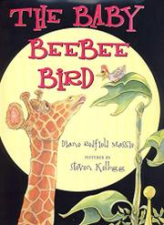 THE BABY BEEBEE BIRD by Diane Redfield Massie