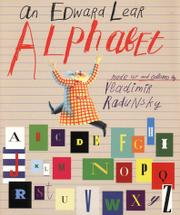 Book Cover for AN EDWARD LEAR ALPHABET