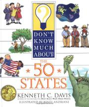 Book Cover for DON'T KNOW MUCH ABOUT THE 50 STATES