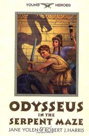 Cover art for ODYSSEUS IN THE SERPENT MAZE