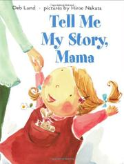 Cover art for TELL ME MY STORY, MAMA