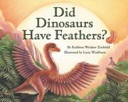 Book Cover for DID DINOSAURS HAVE FEATHERS?