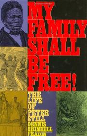 Cover art for MY FAMILY SHALL BE FREE!