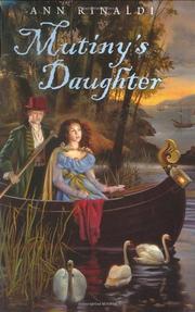 MUTINY'S DAUGHTER by Ann Rinaldi