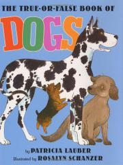 Cover art for THE TRUE-OR-FALSE BOOK OF DOGS