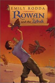 Cover art for ROWAN AND THE ZEBAK
