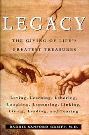LEGACY by M.D. Greiff