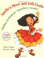 "Book Cover for AMELIA'S SHOW-AND-TELL FIESTA/AMELIA Y LA FIESTA DE ""MUESTRA Y CUENTA"""