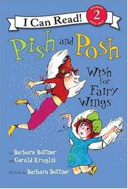 Book Cover for PISH AND POSH WISH FOR FAIRY WINGS