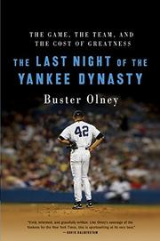 Cover art for THE LAST NIGHT OF THE YANKEE DYNASTY