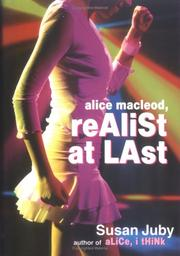 Cover art for ALICE MACLEOD, REALIST AT LAST
