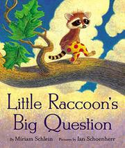 Cover art for LITTLE RACOON'S BIG QUESTION