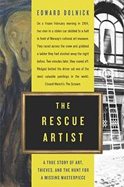 Cover art for THE RESCUE ARTIST