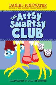 Book Cover for THE ARTSY SMARTSY CLUB