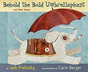Book Cover for BEHOLD THE BOLD UMBRELLAPHANT
