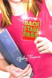 BACKSTAGE PASS by Gaby Triana